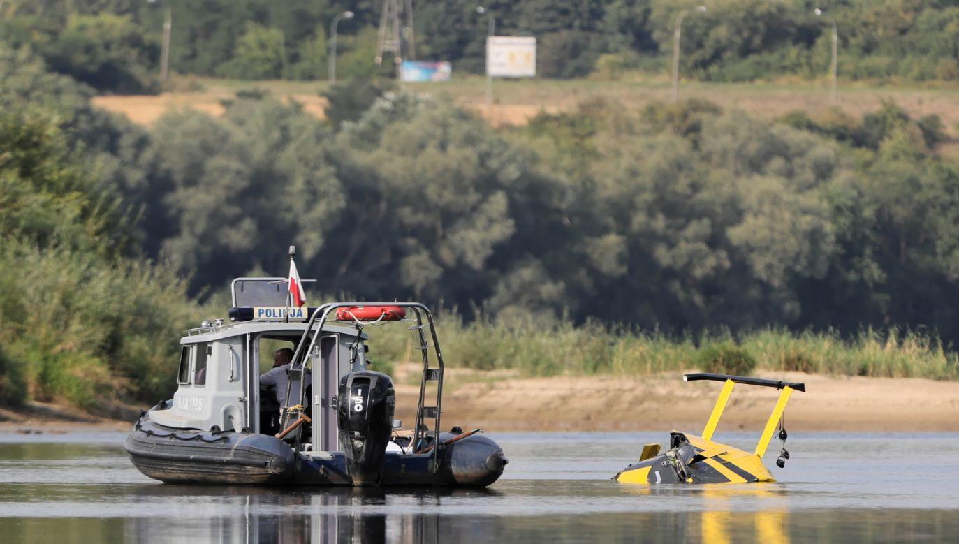 Śmigłowiec był w bardzo dobrym stanie technicznym (fot. PAP/Leszek Szymański)