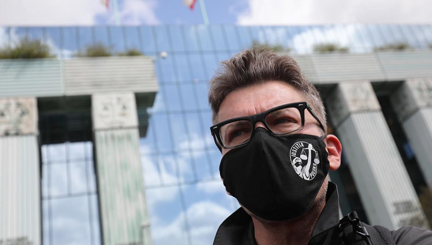 Igor Tuleya nie zostanie siłą doprowadzony na przesłuchanie (fot. PAP/Paweł Supernak)