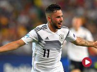 ME U21: dwa i pół w skali Richtera. Niemcy lepsi od Danii