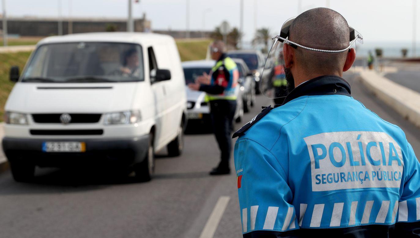 Przewodniczący portugalskiej Izby Lekarskiej w wywiadzie dla telewizji RTP wyraził przekonanie, że epidemia w tym kraju potrwa jeszcze kilka miesięcy(fot. Pedro Fiúza/NurPhoto via Getty Images)