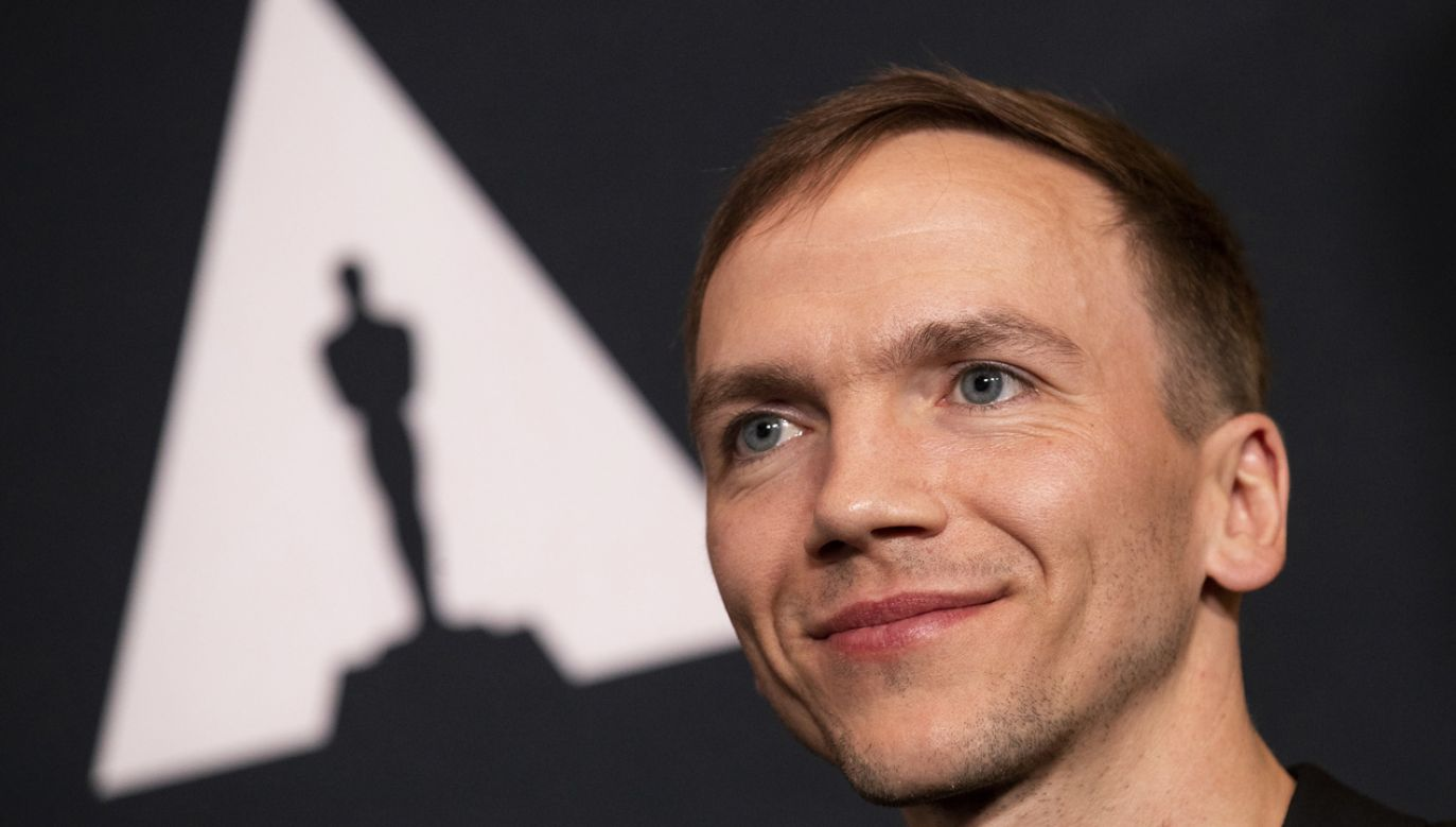 """Jan Komasa, reżyser """"Bożego ciała"""", polskiego kandydata do Oscara (fot. PAP/EPA/ETIENNE LAURENT)"""
