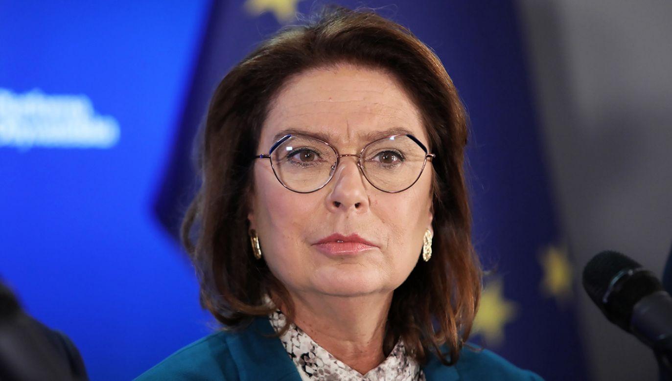 Otoczenie Małgorzaty Kidawy-Błońskiej podejrzewa, że szef PO Grzegorz Schetyna chce osłabić jej szanse w prawyborach prezydenckich (fot. arch. PAP/Leszek Szymański)