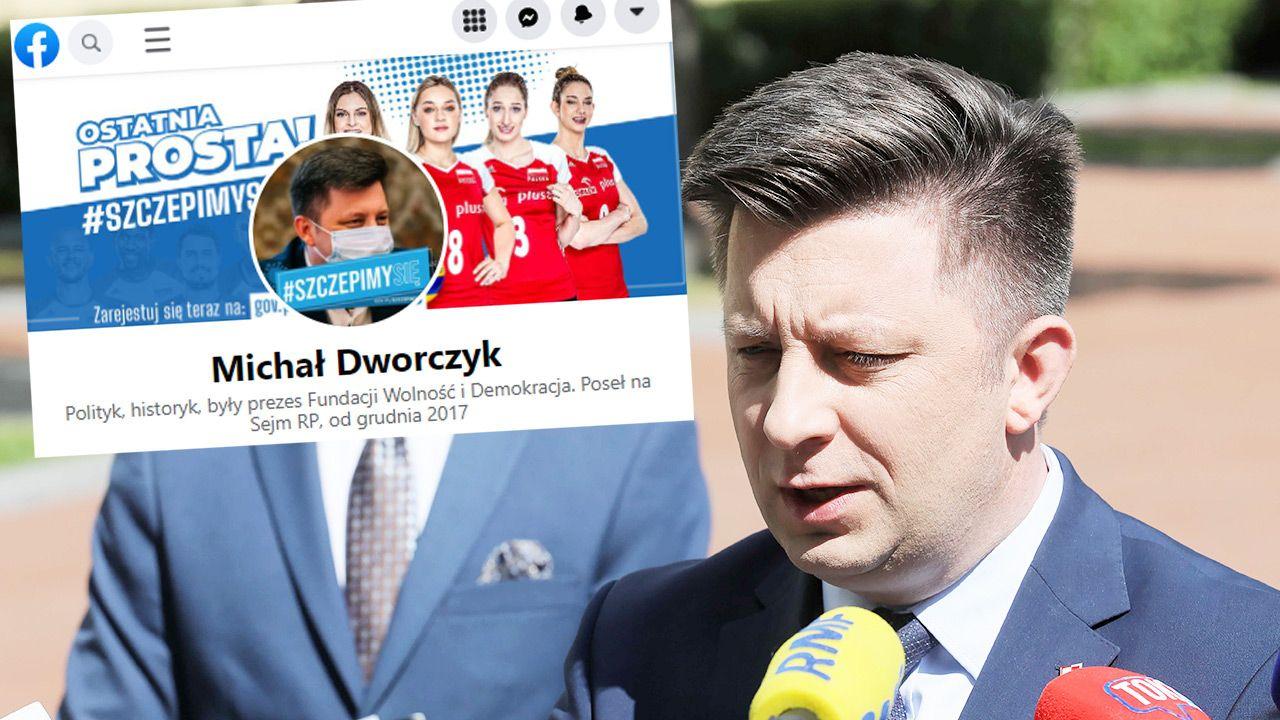 Michał Dworczyk padł ofiarą cyberataku (fot. PAP/Paweł Supernak)