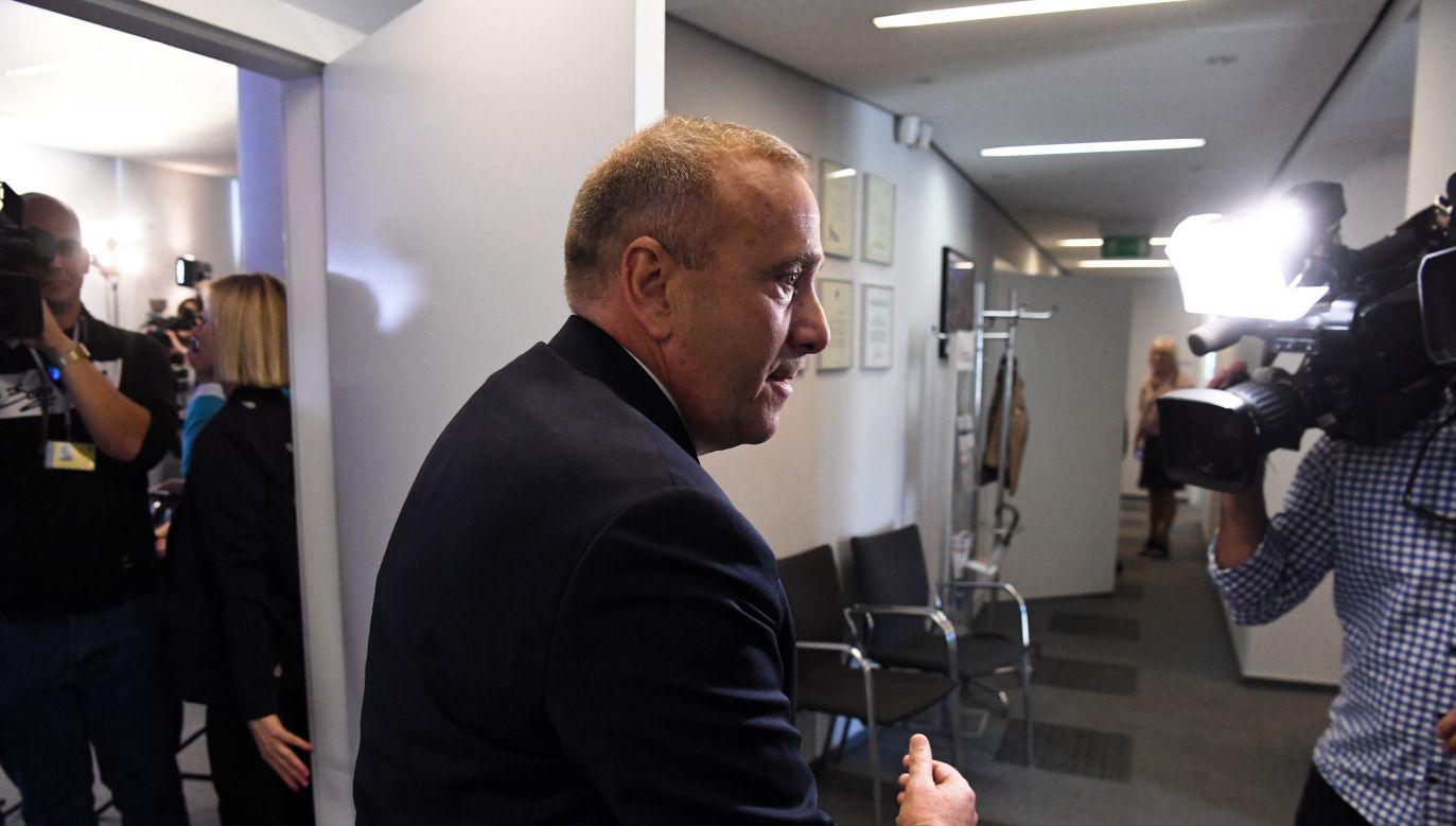 Grzegorz Schetyna poinformował w czwartek, że PO idzie do jesiennych wyborów bez PSL i SLD (PAP/Piotr Nowak)