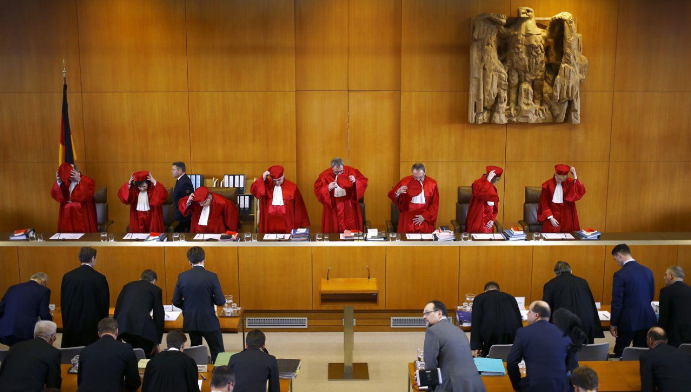 Sędziowie motywowali decyzję wolnością do samobójstwa (fot. Reuters/Kai Pfaffenbach)