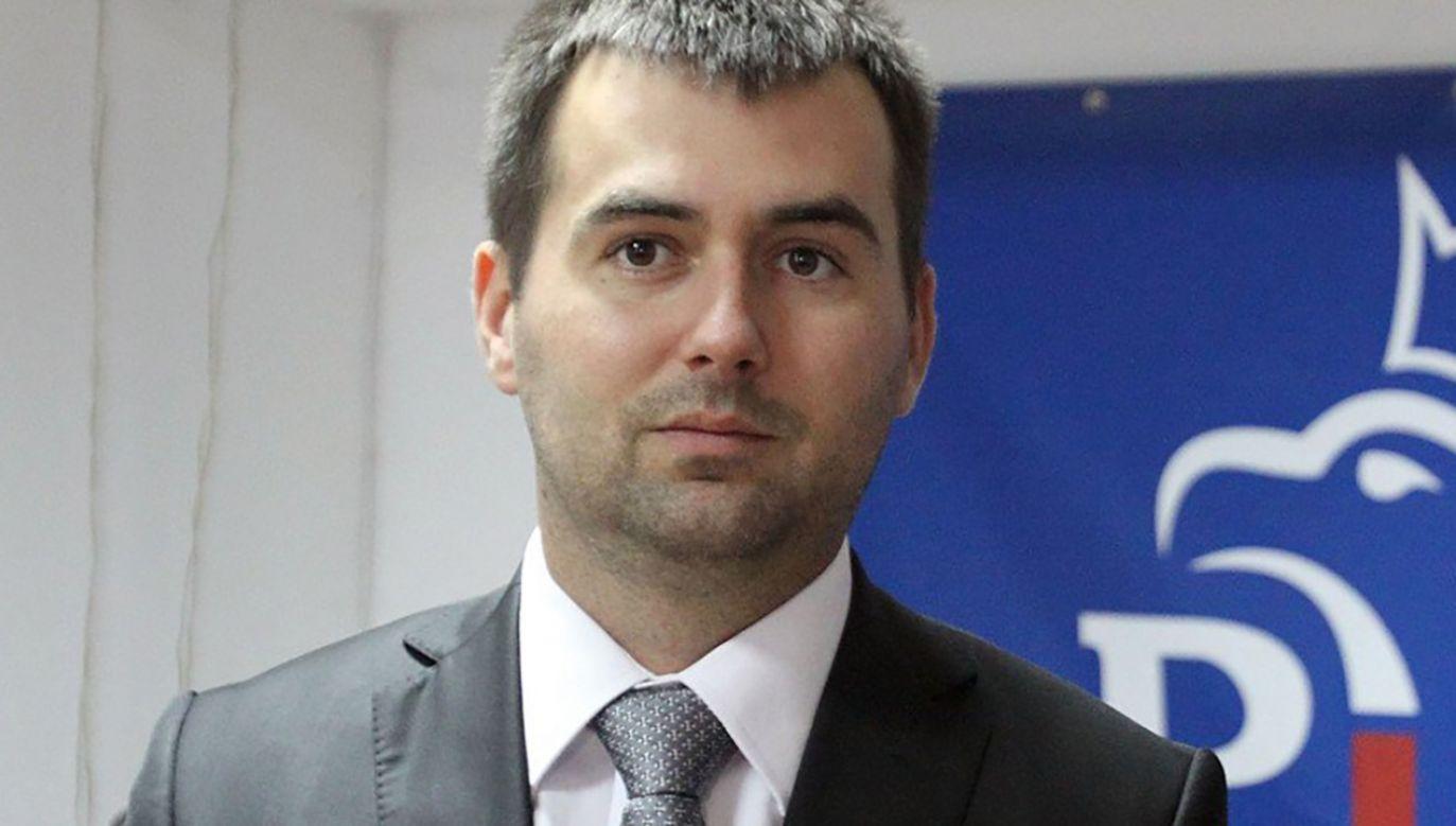 """Spychalski  ocenił, że nie usłyszał podczas debaty, jakie Polska ma problemy z praworządnością, a jedynie """"ogólniki"""" (fot. TT Andrzej Szylar)"""