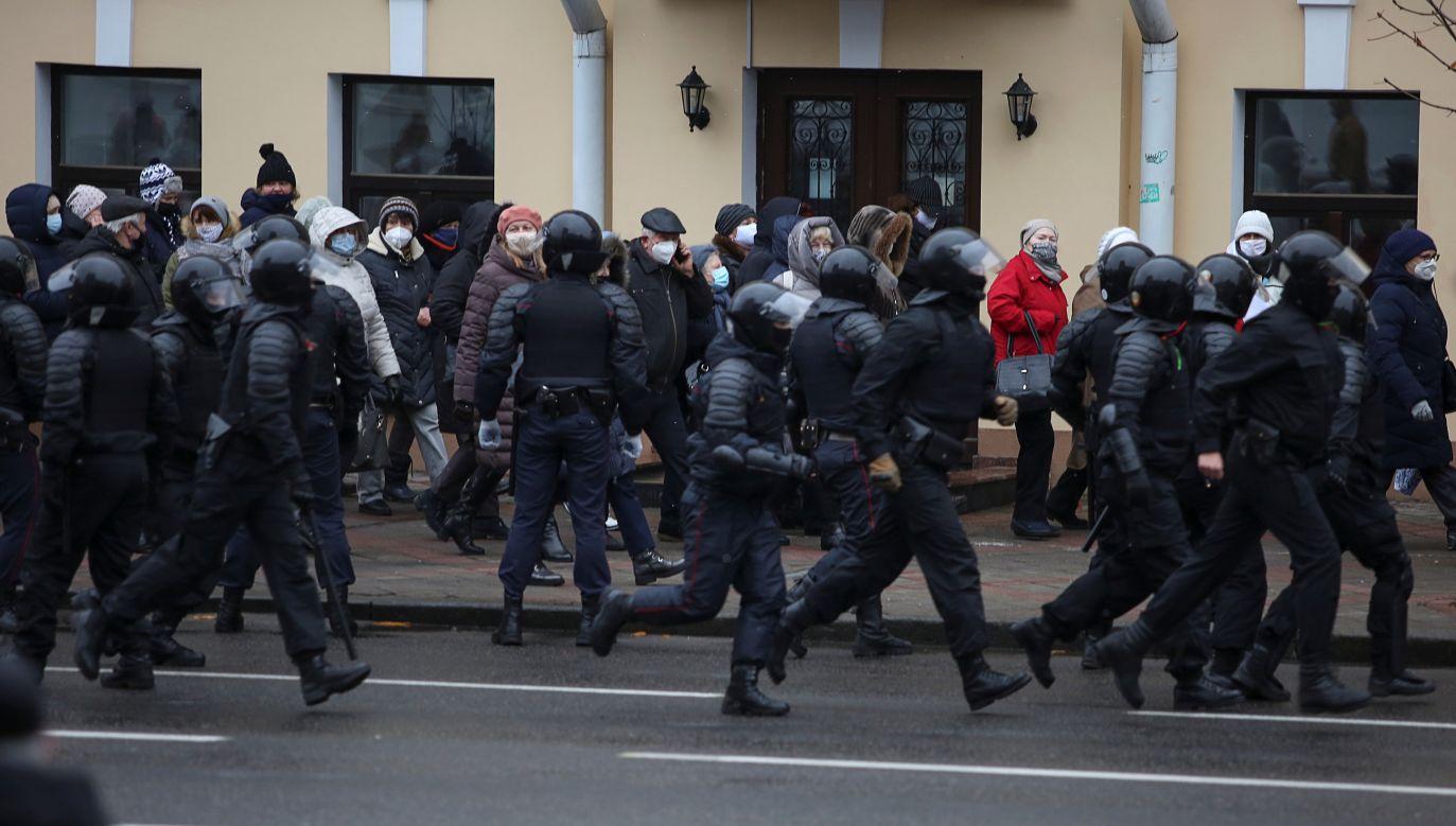 Wilno pomaga Białorusinom (fot. Reuters)