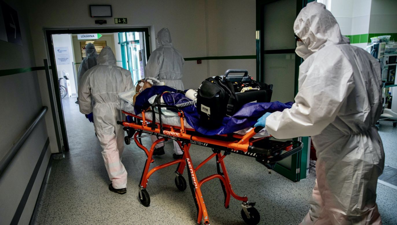 Możliwości szpitali są na granicy wyczerpania (fot. PAP/EPA/MARTIN DIVISEK)
