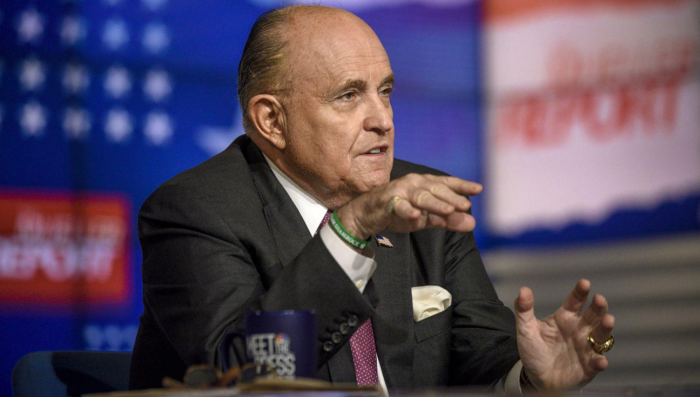 W ocenie Giulianiego nadzieją Europy jest obecnie Europa Wschodnia (fot. William B. Plowman/NBC/NBC Newswire/NBCUniversal via Getty Images)