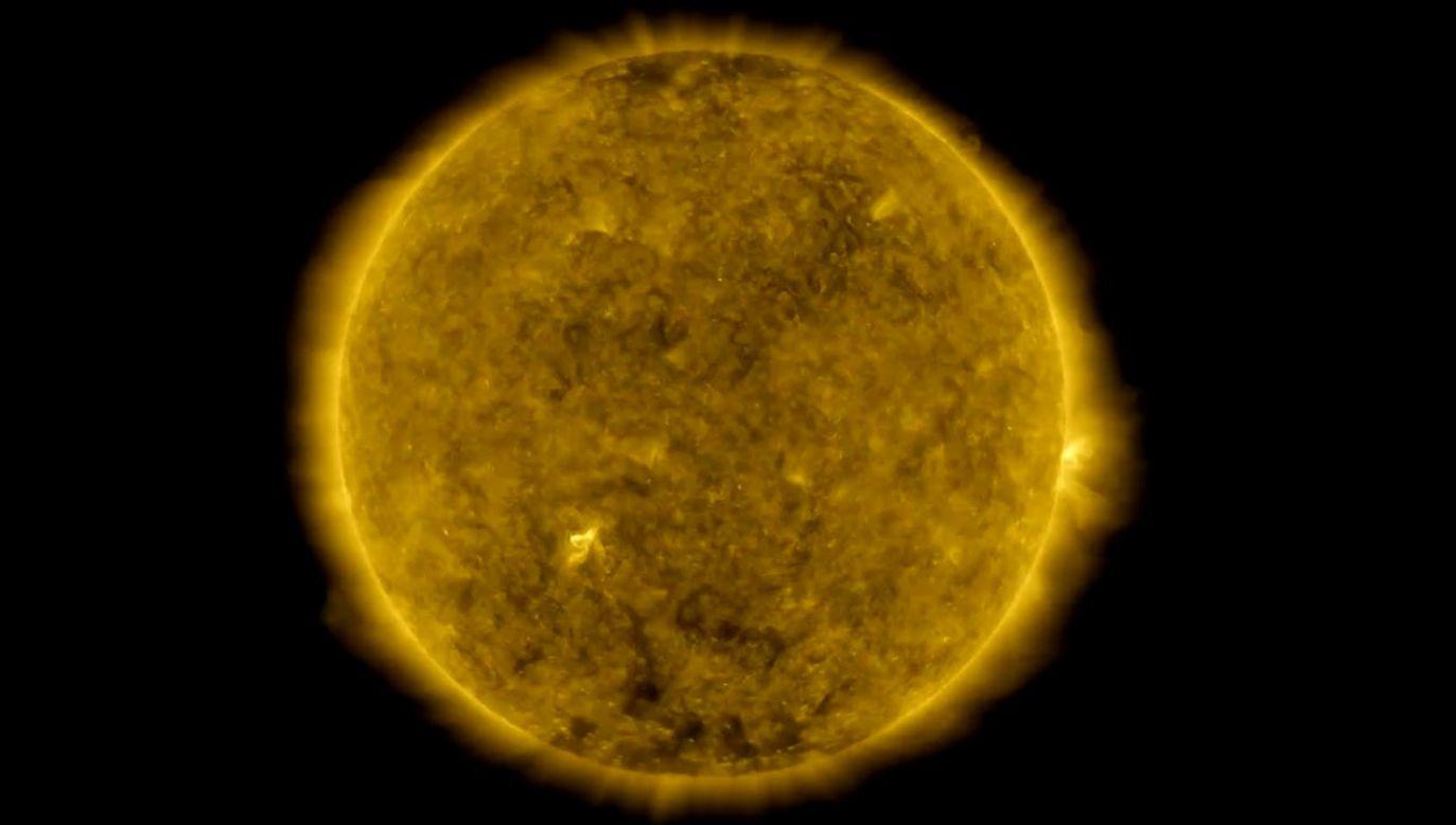 Obserwatorium Dynamiki Słońca od dekady rejestruje zdjęcia Słońca (fot. NASA's Goddard Space Flight Center/SDO)