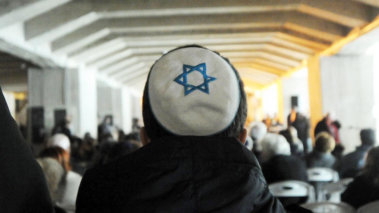 Policja w Niemczech odnotowała 2275 ataków antysemickich w 2020 r. (fot. Pier Marco Tacca/Getty Images)