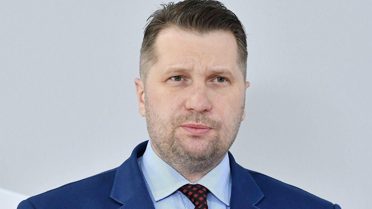 W piątek wideokonferencja ministra Czarnka oraz rektora AWF w Warszawie (fot. AP/Radek Pietruszka)