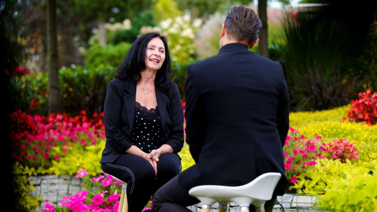 Teresa szybko złapała z rozmówcą dobry kontakt (fot. TVP)