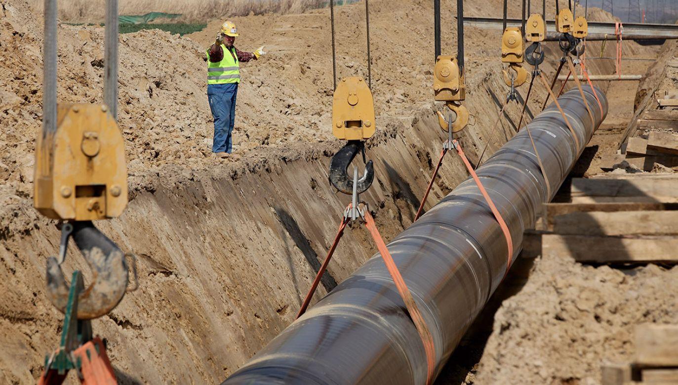 W zeszłym tygodniu TSUE unieważnił zgodę KE na wykorzystanie w pełni gazociągu OPAL przez rosyjski Gazprom (fot. Sean Gallup/Getty Images)