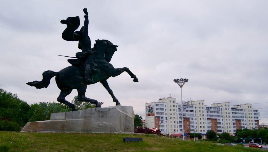 Pomnik Suworowa (fot.Joanna Kocik)