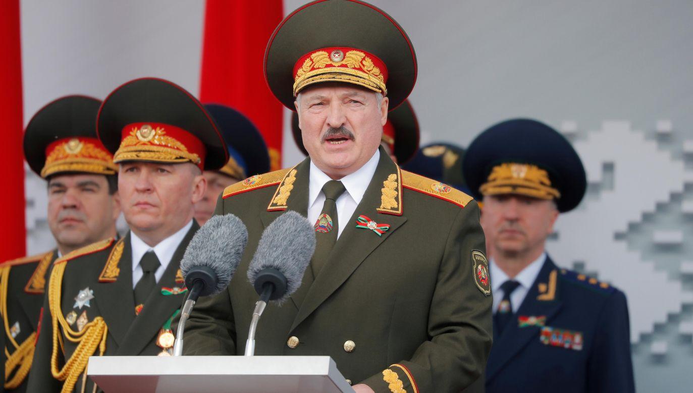 Łukaszenka miał wyrazić niepokój w związku ze zwiększeniem obecności wojsk amerykańskich w Polsce (fot. REUTERS/Vasily Fedosenko)