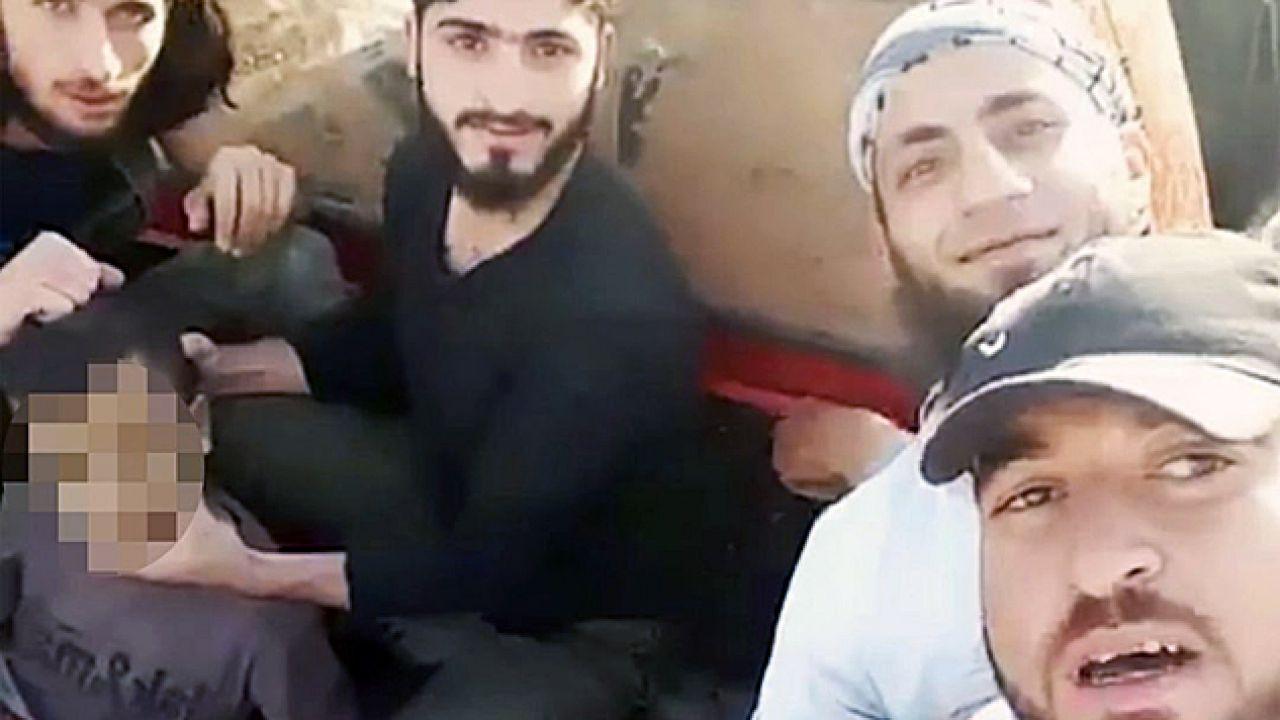 Członkowie Ruchu Nour al-Din al-Zenki przeprowadzili egzekucję palestyńskiego dziecka (fot. YT)