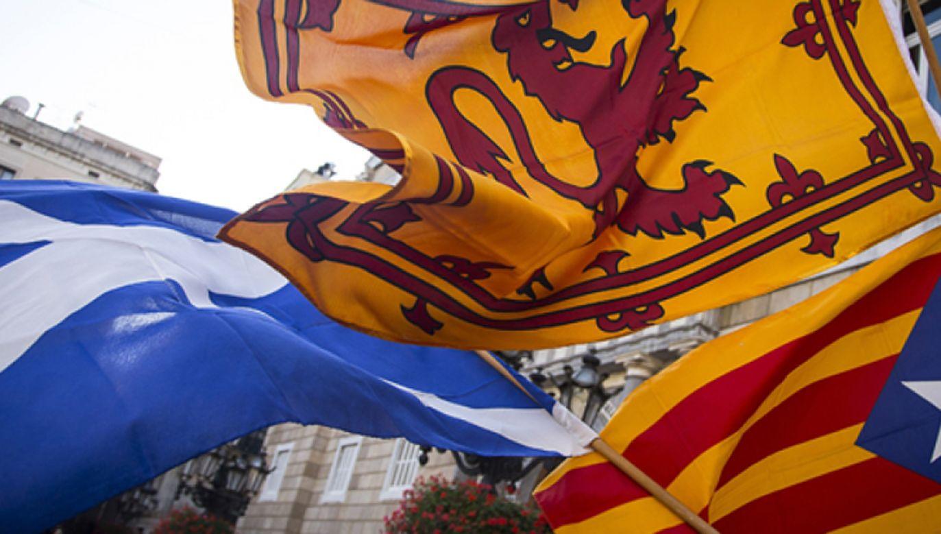 Szkocja, Walia i Katalonia wspierają się w dążeniach separatystycznych (fot. Albert Llop/Anadolu Agency/Getty Images)