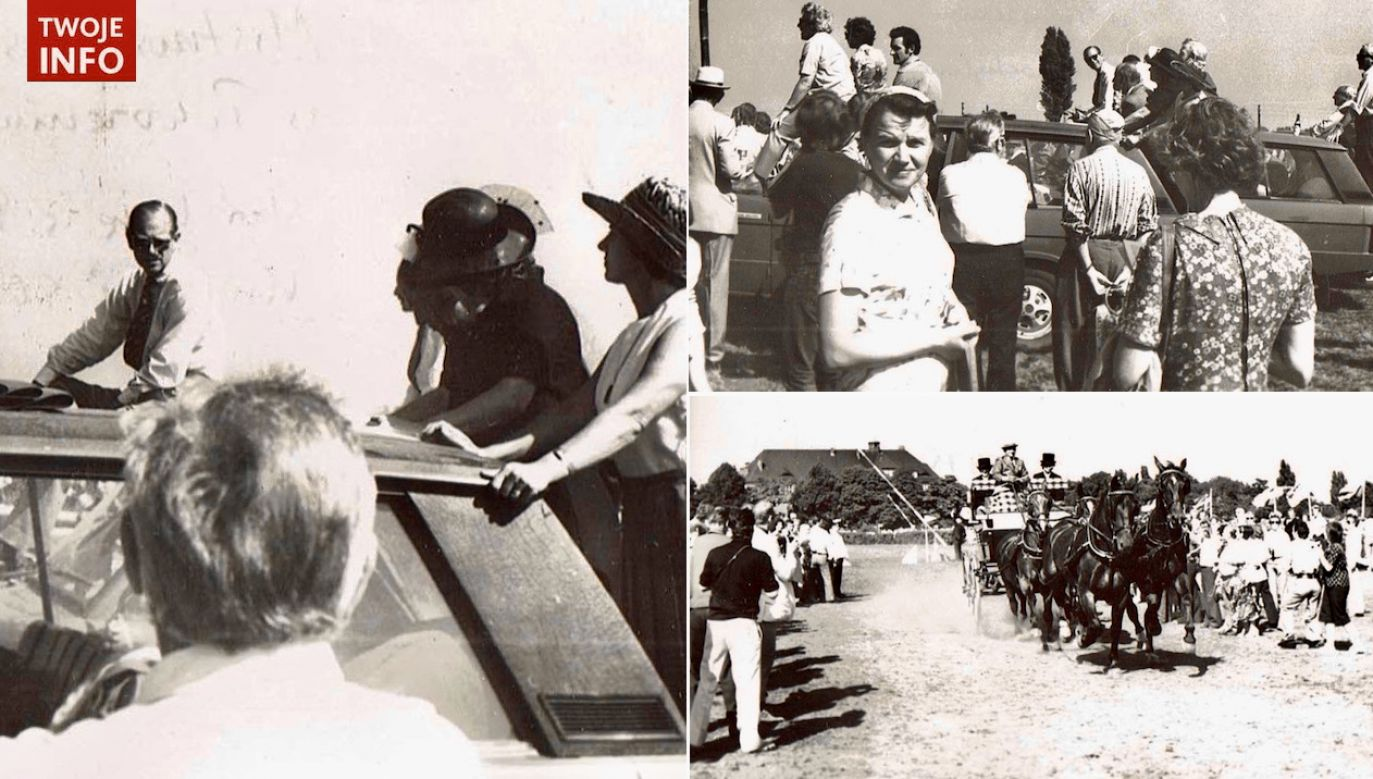 Zdjęcia wykonano m.in. na Hipodromie w Sopocie w 1975 r. (fot. Twoje Info/Czesław Piechnik)
