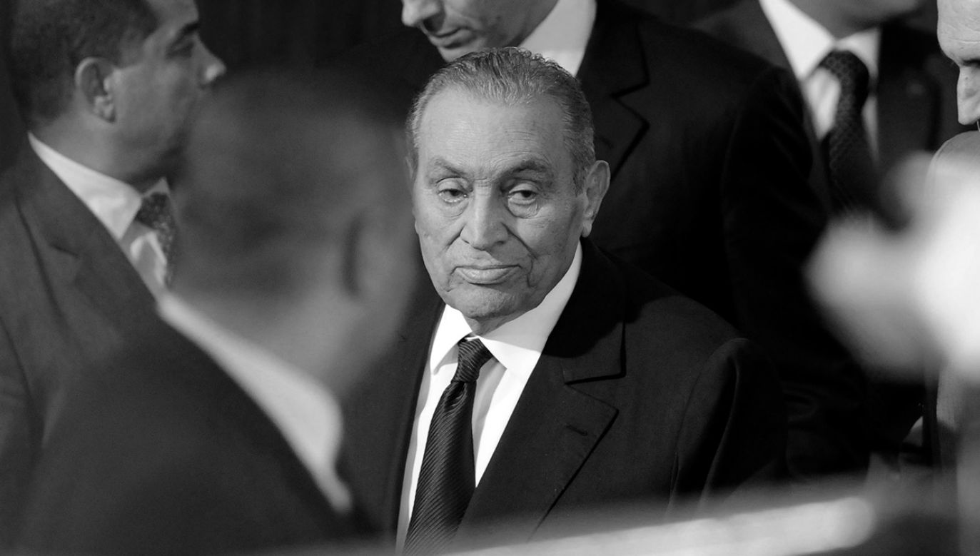 Hosni Mubarak miał 91 lat (fot. Mohamed Mostafa/NurPhoto via Getty Images)