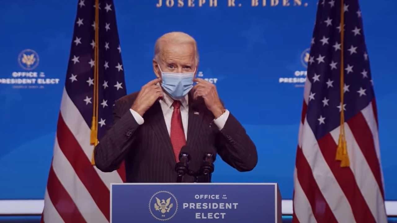 Joe Biden został ogłoszony zwycięzcą wyborów w USA (fot. PAP/EPA/OFFICE OF THE PRESIDENT ELECT/HANDOUT)
