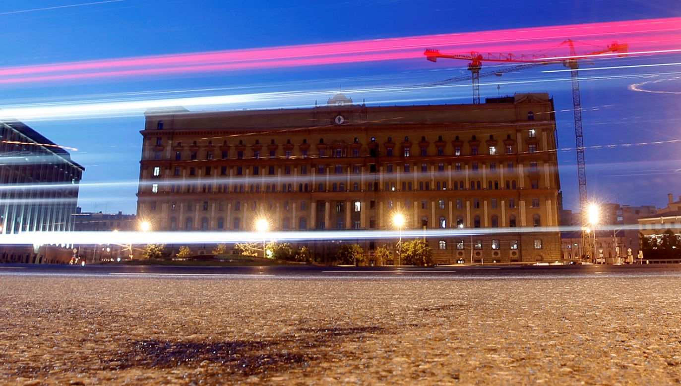 Siedziba FSB w Moskwie (fot. REUTERS/Maxim Shemetov/File Photo)