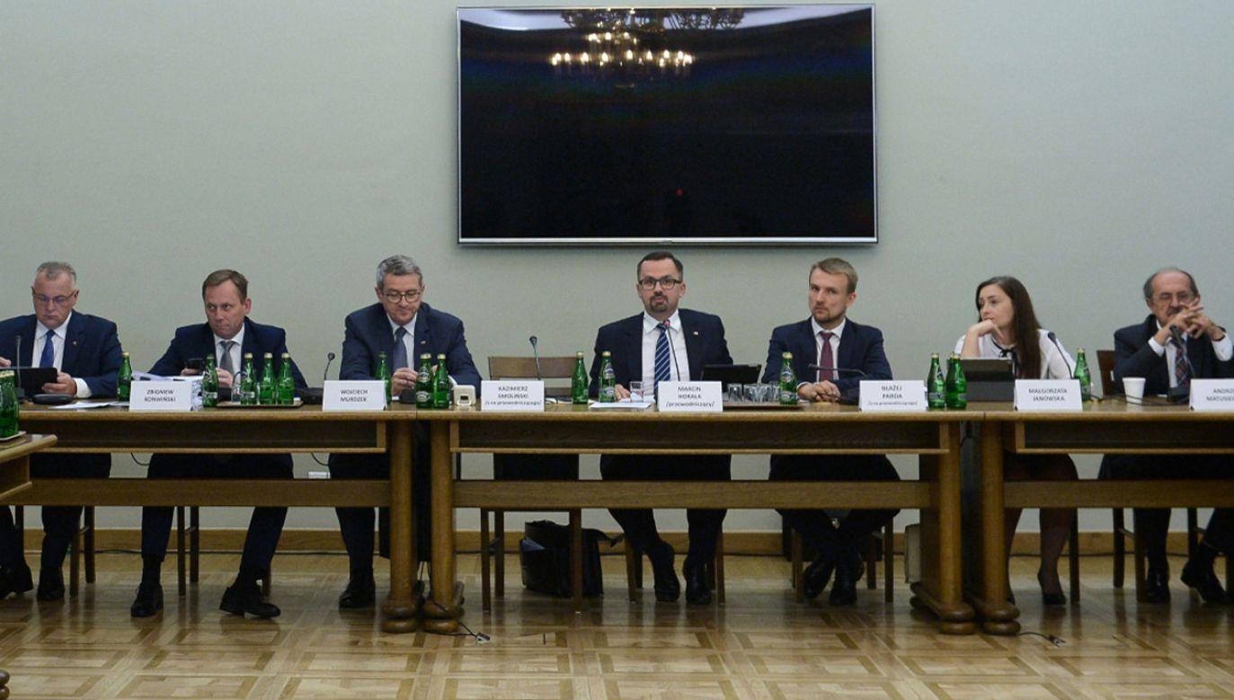 Komisja śledcza ds. VAT została powołana na początku lipca 2018 roku (fot. Sejm)