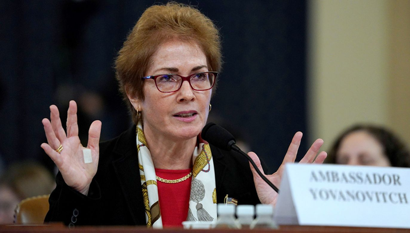 Postępowanie ws. śledzenia byłej ambasador USA w Kijowie Marie Yovanovitch (fot. REUTERS/Jonathan Ernst)