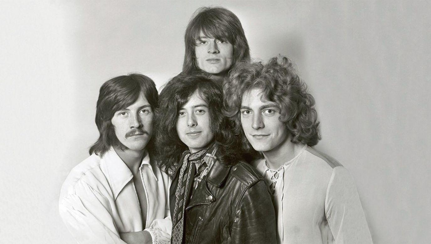 """Wydana w 1971 roku ballada """"Stairway to heaven"""" stała się największym hitem Led Zeppelin (fot. TT/Led Zeppelin)"""