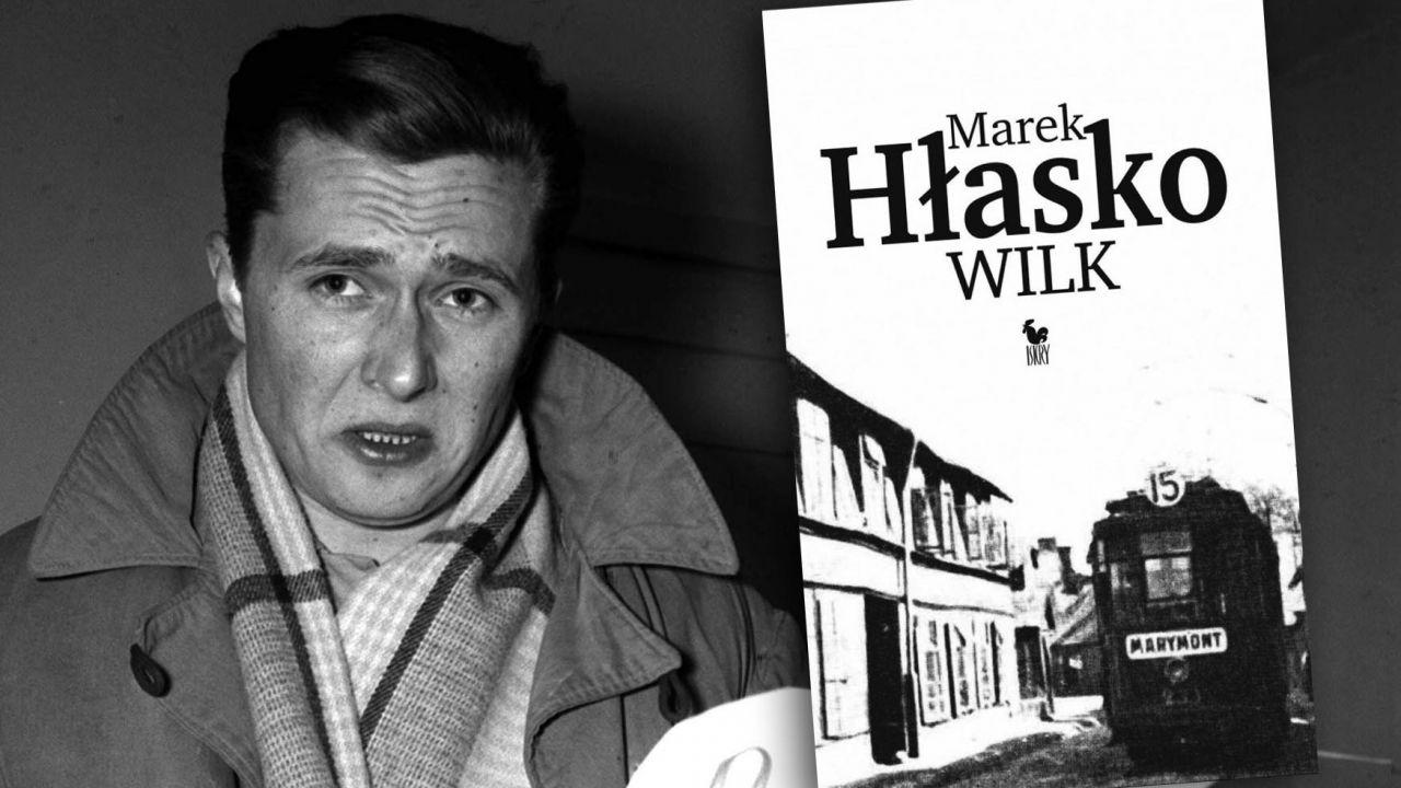 """Niezwykła premiera po 62 latach. 23 września ukazuje się debiutancka powieść Marka Hłaski """"Wilk"""" (fot. arch.PAP/Adam Mottl)"""