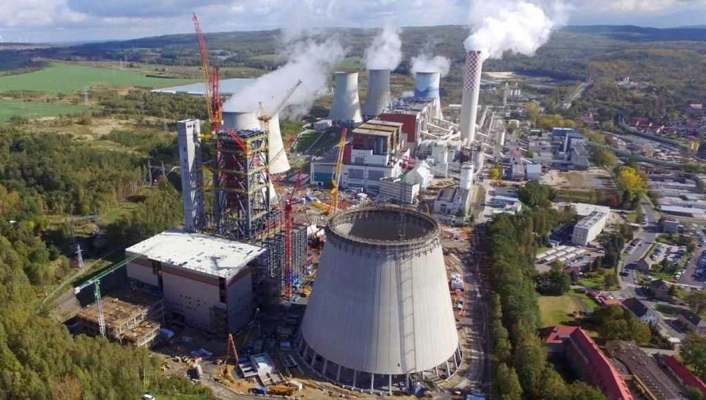 Blok na węgiel brunatny będzie miał moc 496 MW (fot. PGE)