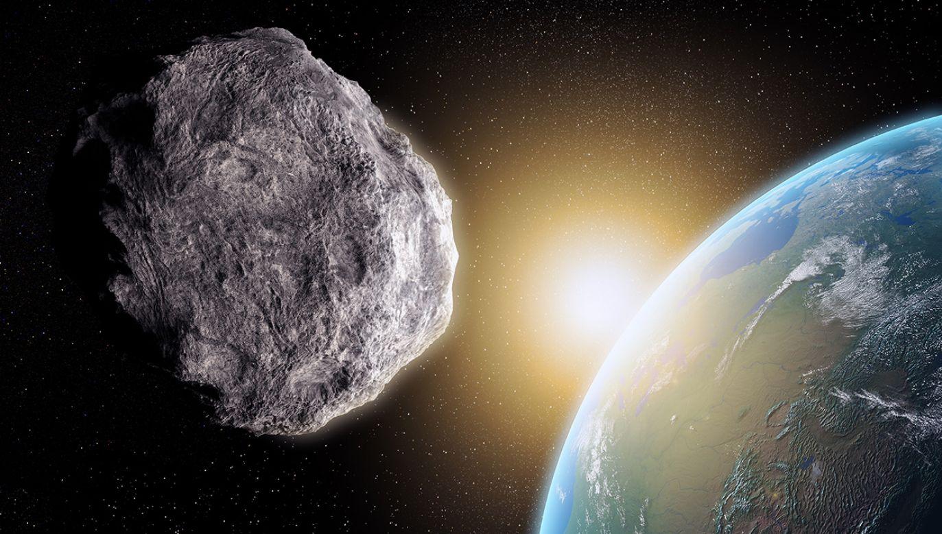 Asteroida jest rozmiarów wielkiej piramidy w Gizie (fot. Shutterstock/Mopic)