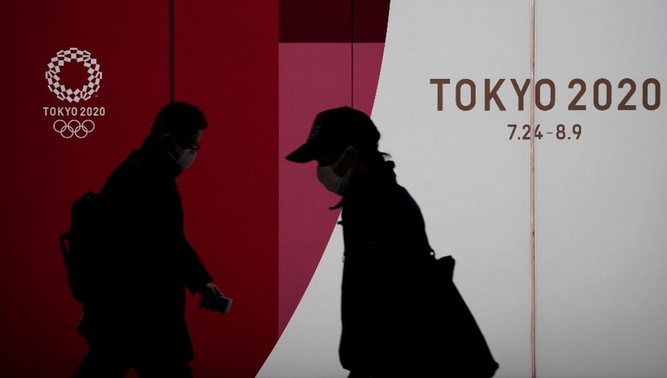 Jest znikoma szansa, że igrzyska w Tokio rozpoczną się 24 lipca (fot. PAP/EPA/KIMIMASA MAYAMA)