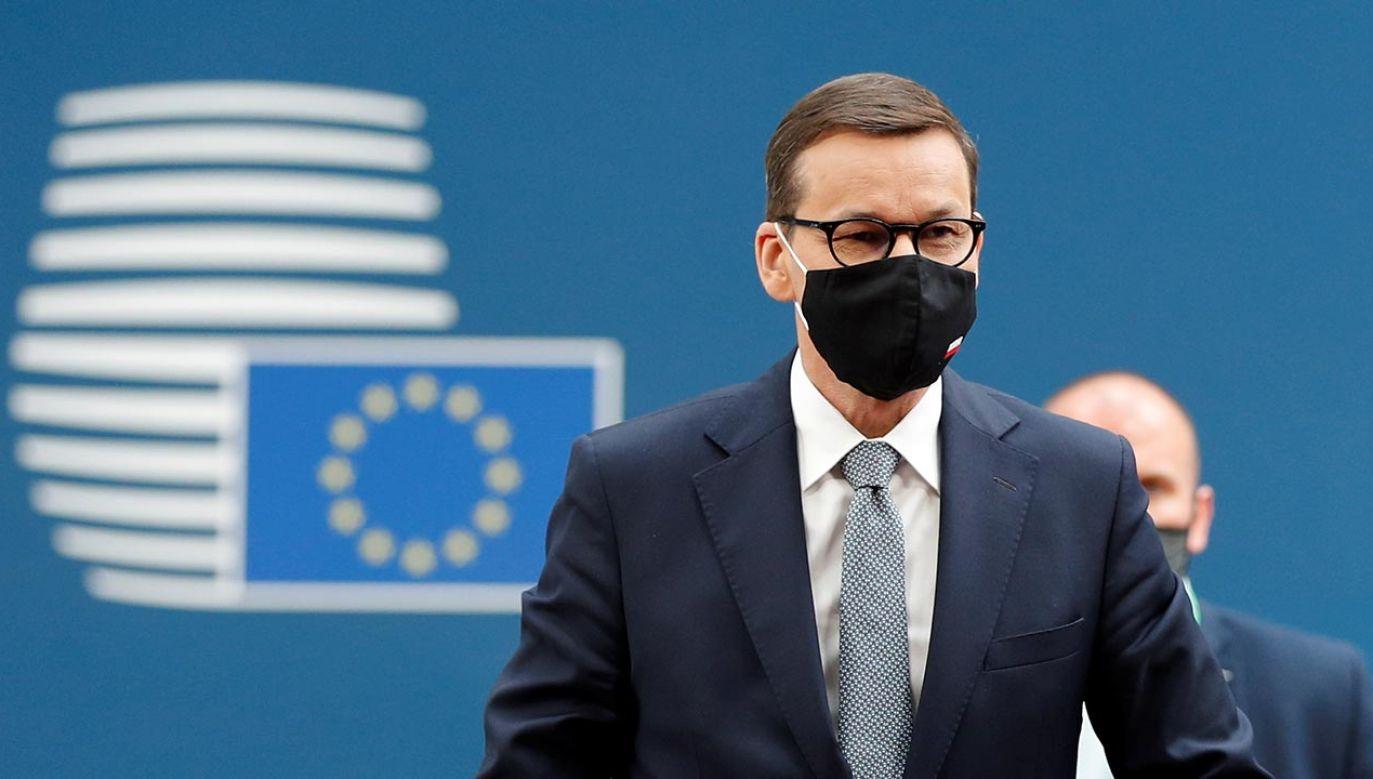 Rozmowy o cyberatakach na szczycie UE (fot. Forum/JOHANNA GERON)