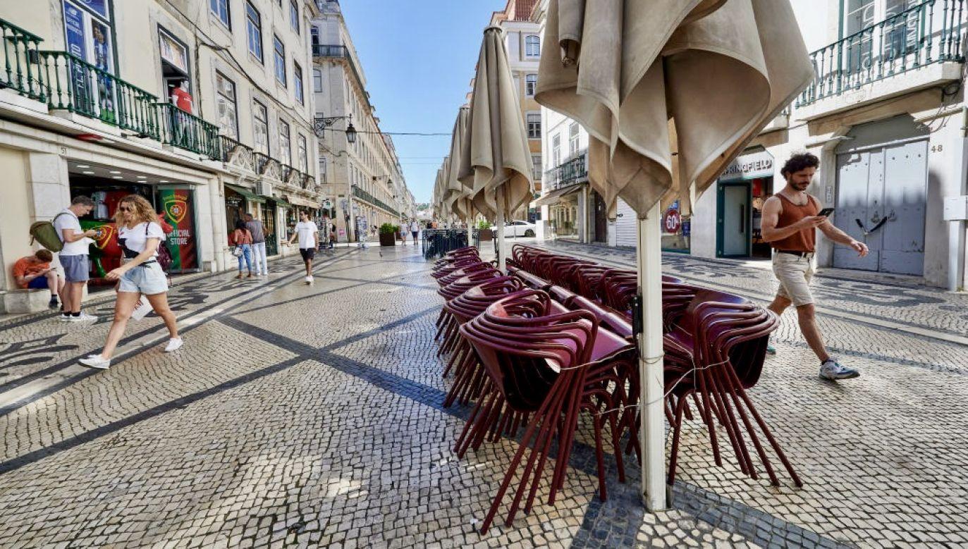 Portugalskie Stowarzyszenie Hoteli i Restauracji chce tymczasowego obniżenia podatku VAT do 6 proc. (fot. Horacio Villalobos/Corbis via Getty Images)