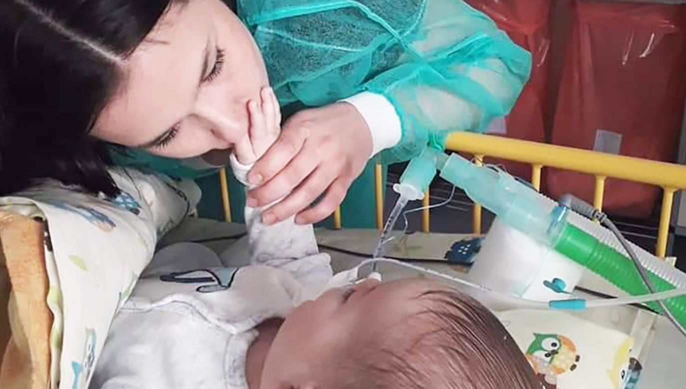 Rodzinie uniemożliwiono uczestniczenie w konsylium lekarskim (fot. FB/WalczSzymon)