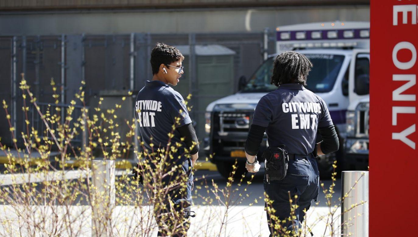 Dotychczas sądzono, że na terytorium Stanów Zjednoczonych pierwszy przypadek zakażenia miał miejsce 19 stycznia br.(fot. John Lamparski/NurPhoto via Getty Images)