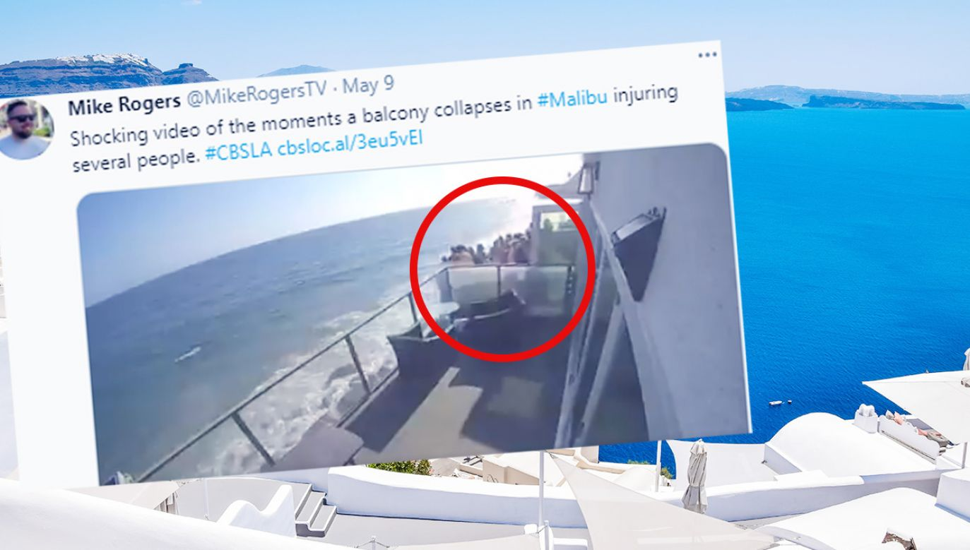 Balkon zawalił się pod nogami imprezowiczów (fot. ShutterstockTT)