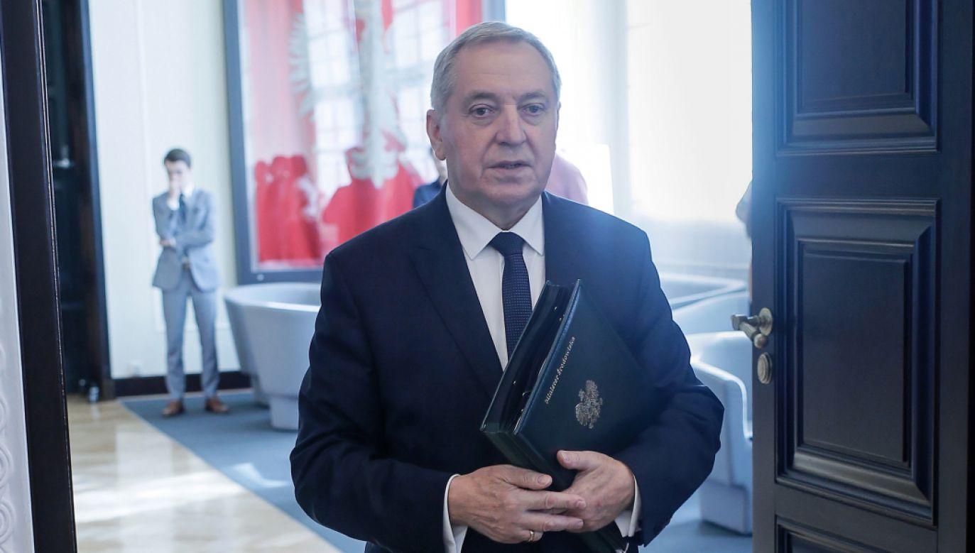 Jak mówi minister środowiska, inspektorzy Delegatury WIOS w Ostrołęce udali się na miejsce zdarzenia w celu przeprowadzenia jego szczegółowego rozpoznania (fot. PAP/Leszek Szymański)