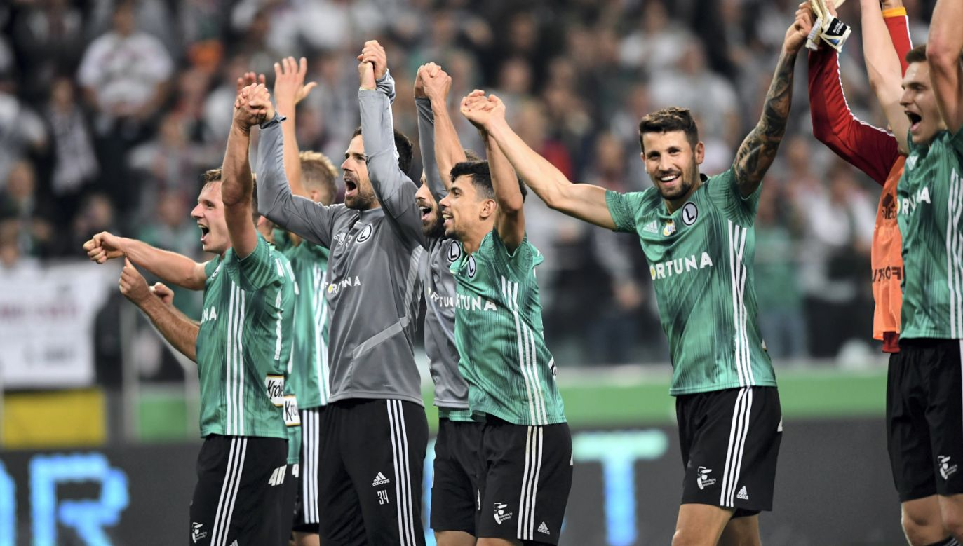 Legia Warszawa pokonała Lech Poznań 2:1 (fot. PAP/Piotr Nowak)