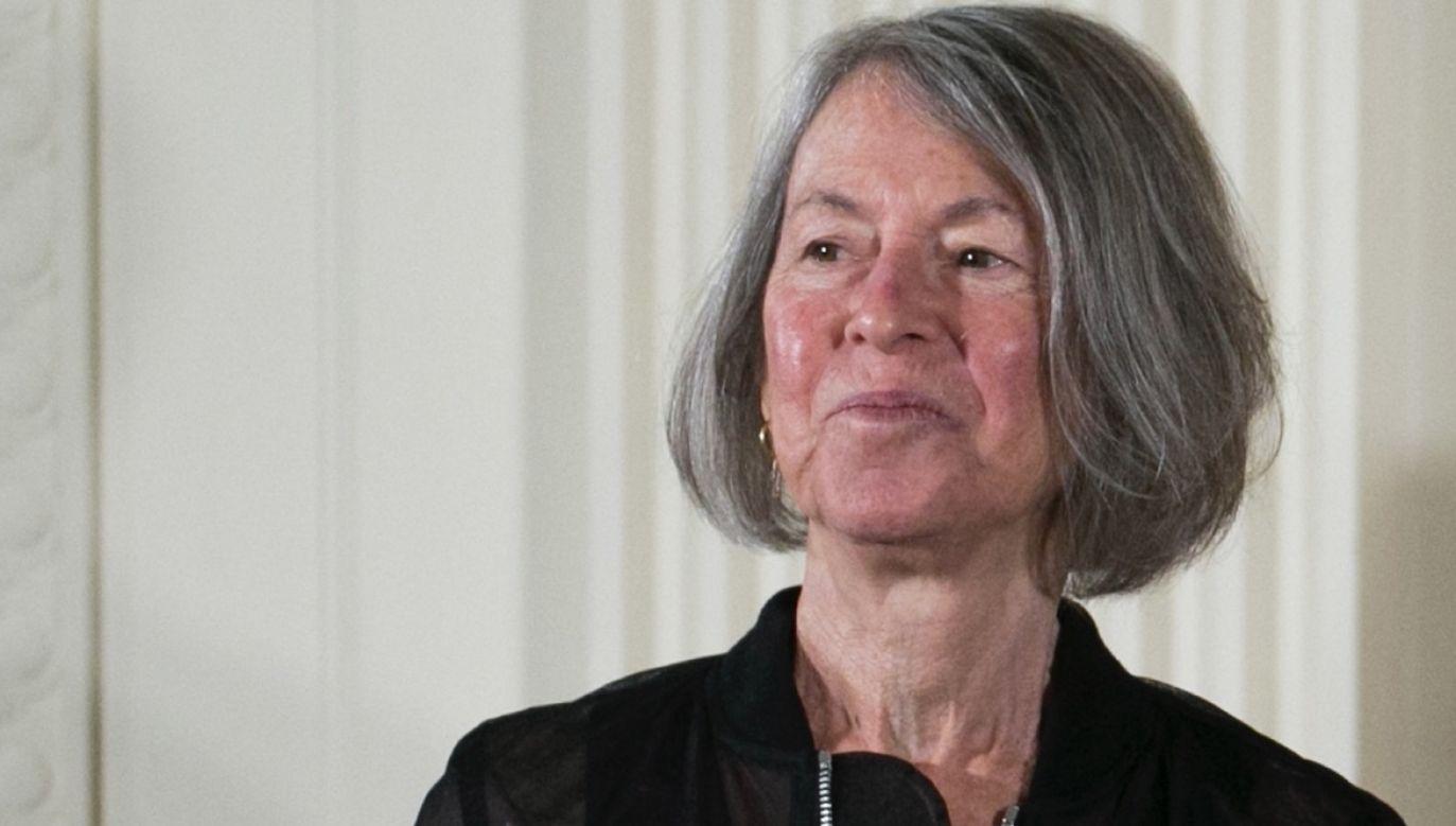 Louise Elisabeth Glück urodziła się 22 kwietnia 1943 w Nowym Jorku. Jest autorką kilkunastu tomów wierszy (fot. PAP/EPA/SHAWN THEW)