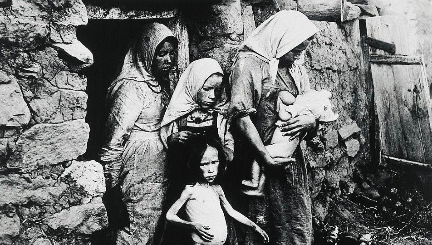 Na Ukrainie zmarło ok. 3,5 mln ludzi w latach 1932-1933 (fot. DeAgostini/Getty Images)