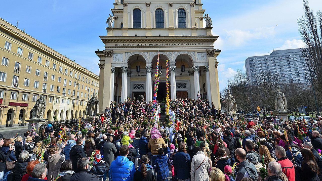 70 procent ankietowanych uznało, że Wielkanoc to święto rodzinne (fot. wikipedia.org)