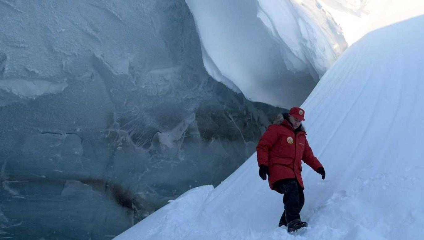 Prezydent Rosji Władimir Putin chce zająć Arktykę (fot. Kremlin.ru)