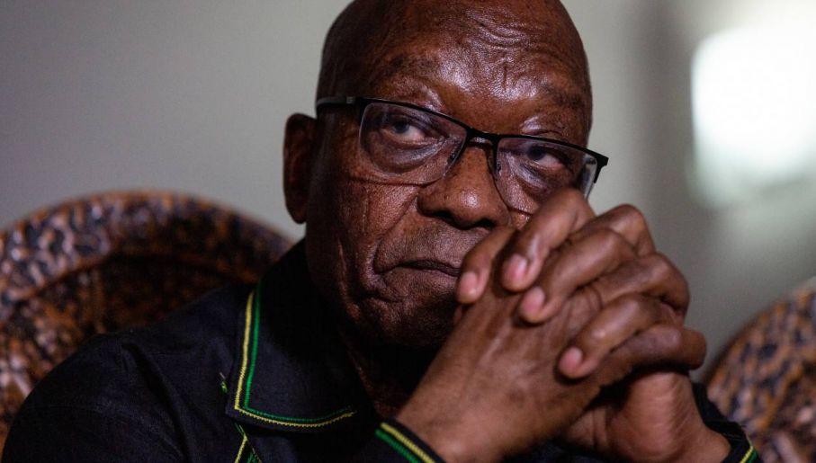 Zuma może spędzić resztę życia za kratkami (fot. PAP/EPA/Yeshiel Panchia)