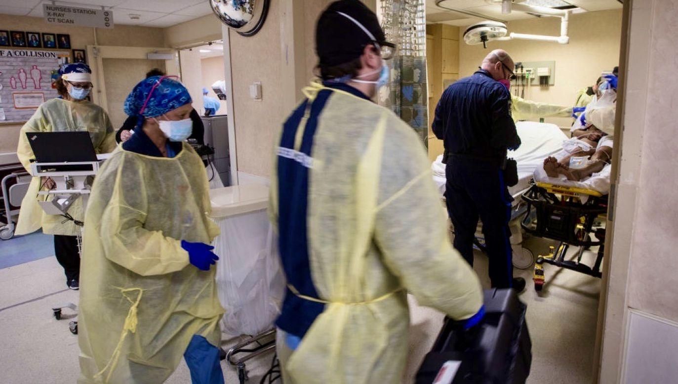 Zespół zapalny podobny do choroby Kawasakiego jest diagnozowany w kolejnych krajach (fot. Jeffrey Basinger/Newsday via Getty Images)