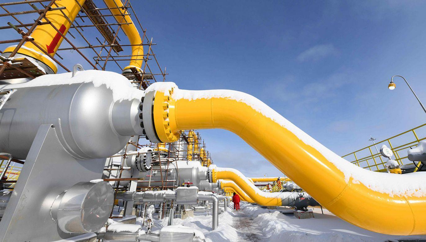 Rosja używa gazu, by wywrzeć polityczną presję na niegdyś zależny od siebie kraj (fot. arch.PAP/Photoshot)