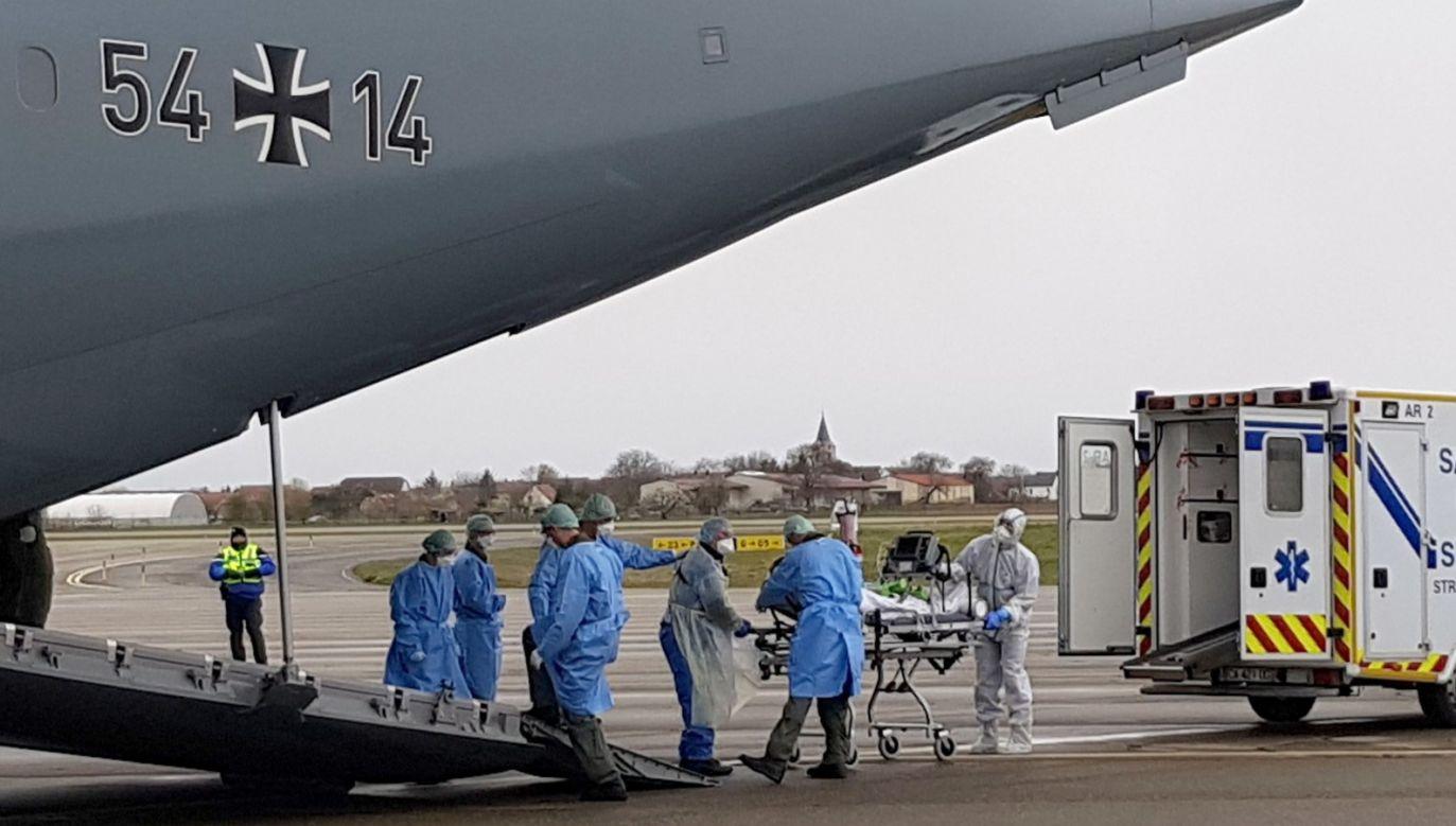 Kryzys będący efektem koronawirusa można doprowadzić do napięć na całym świecie (fot. PAP/EPA/JOHANNES HEYN / HANDOUT HANDOUT)