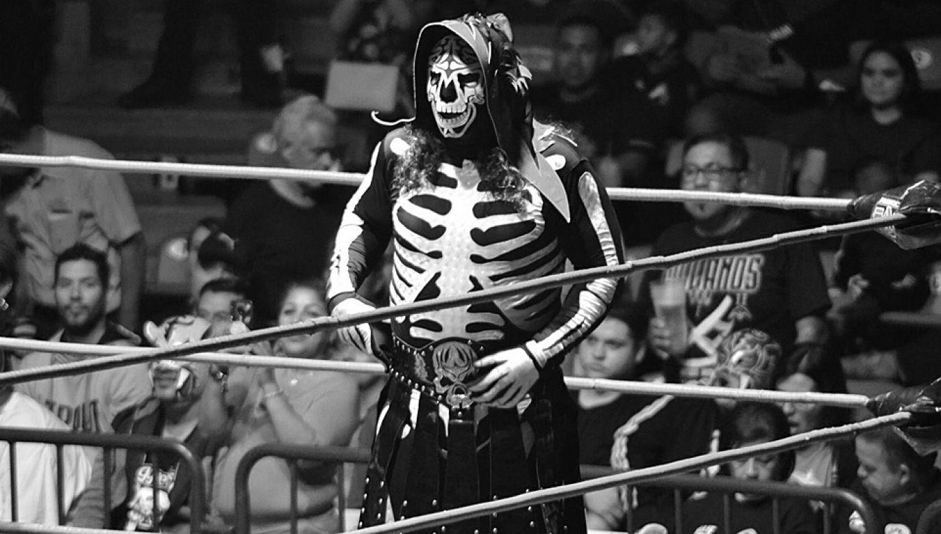 """""""La Parka"""" był jednym z najpopularniejszych zawodników Lucha Libre (fot. TT/SuperkickLucha)"""