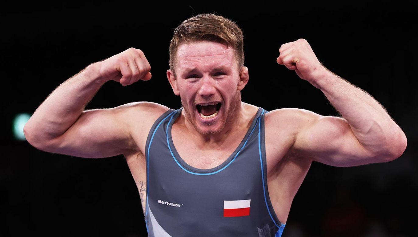 Tadeusz Michalik z brązowym medalem igrzysk w Tokio (fot. Tom Pennington/Getty Images)